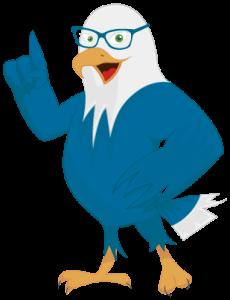 Dibujo de pájaro inteligente