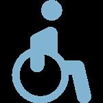 Icono silla de ruedas