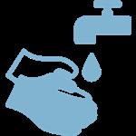 Icono lavarse las manos