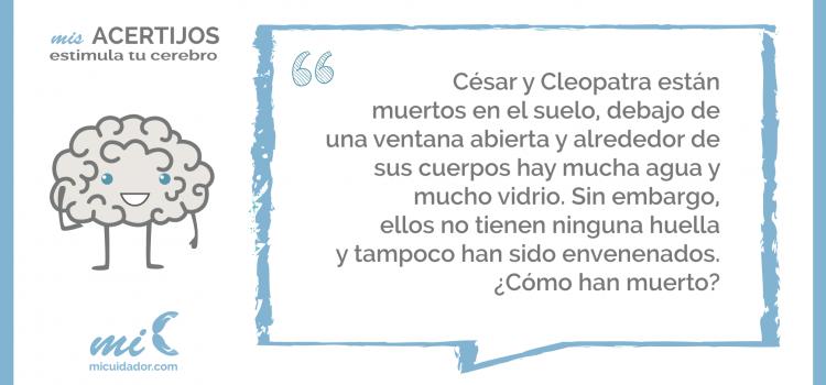 Enigma «César y Cleopatra»