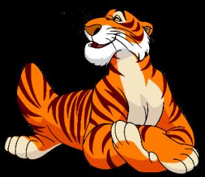 Dibujo tigre