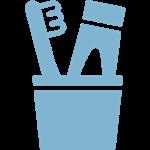 Icono pasta de dientes
