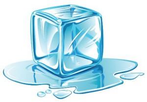 Dibujo cubito de hielo