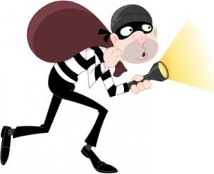 Dibujo ladrón