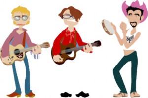 Dibujo grupo musical