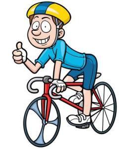 Dibujo ciclista